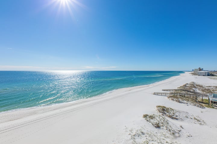 Beachfront condo on Orange Beach  7th floor