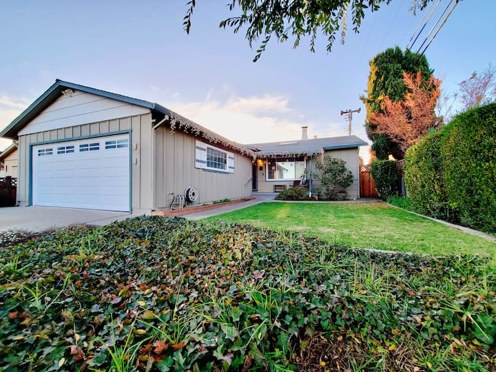 Clean &Cozy 3brs Home close to beach in San Mateo