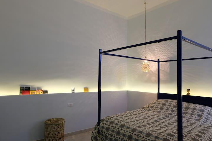 The man bedroom