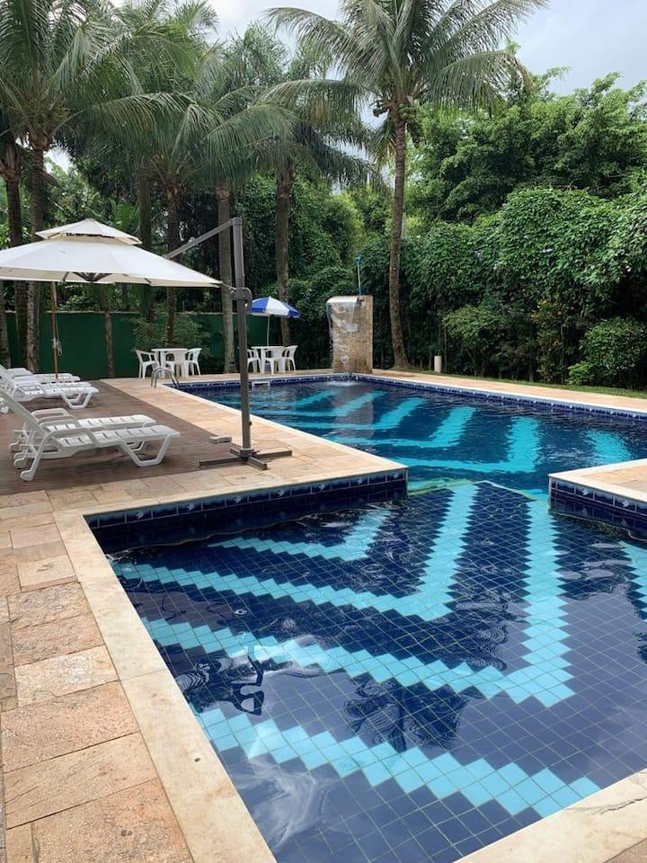 Aloha Maresias - Sobrado em condomínio fechado