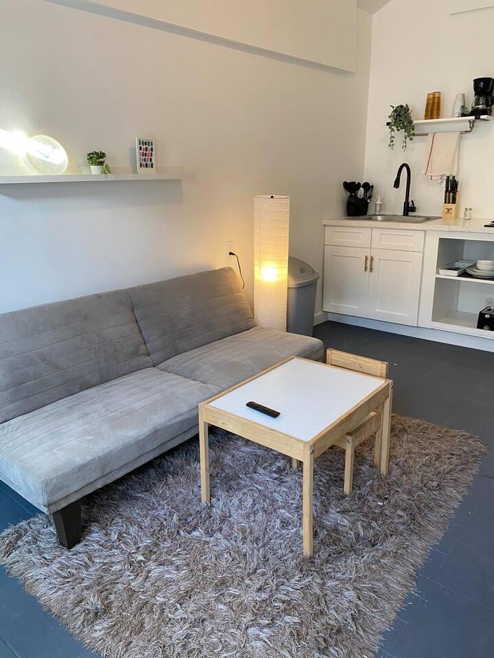 Departamento comodo y espacioso.