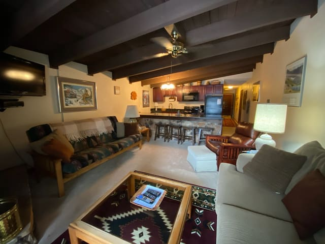 Cozy condo 4 minutes walk to the Chile Express