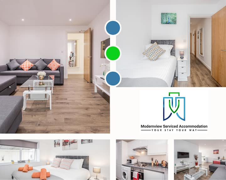 ✪20% OFF✪ MONTHLY STAY | 2 Bedroom Apt✪