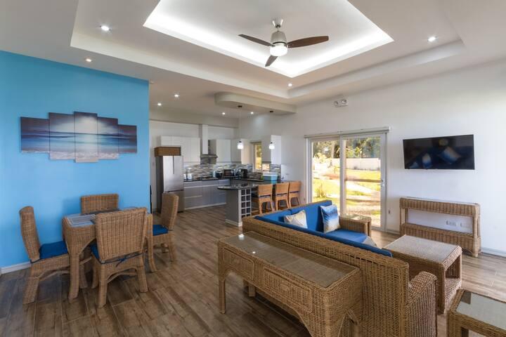 Private Beach Front Villa overlooking Apo Island