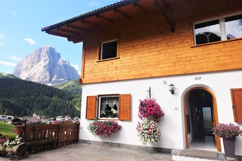 Apartments Praverd in the Dolomites 1