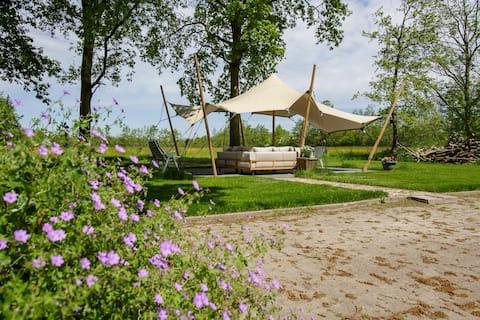 landelijk gelegen vakantiehuis 'Lytshus'