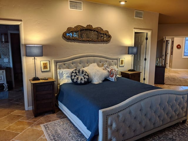 Master Suite with King-sized bed