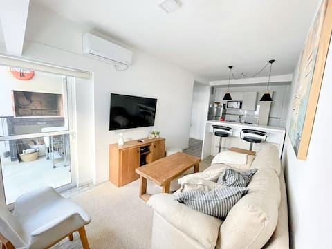 Neue Wohnung in Pocitos, in der Nähe der Rambla (Strand)