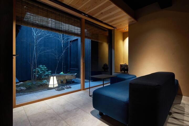 京都独栋町屋旅馆「華・青谷・昕」 |百年町屋|日式庭院|露天風呂|比邻鸭川清水寺|地暖|3间卫浴