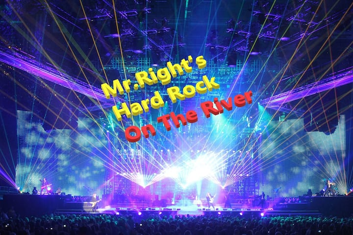 Mr. Right's  Hard Rock On The Guadalupe River