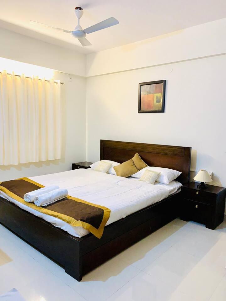 Business stay near Sakra world hospital