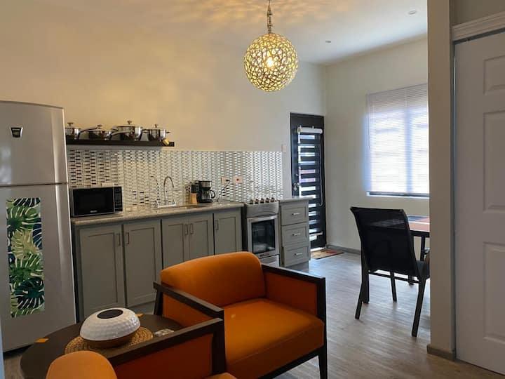 the owlet | modern apartments & zen garden 2 of 3