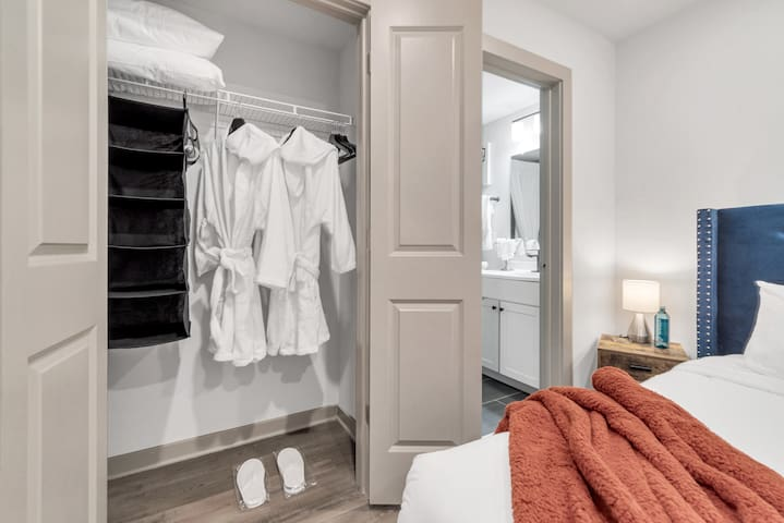 Complimentary Robes During Stay