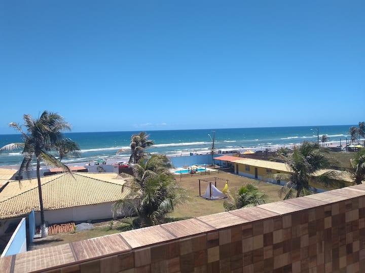 Cobertura Beira-Mar com área Gourmet acesso fácil