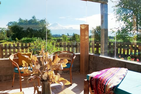 Country House in Cotopaxi, heart of the Andes