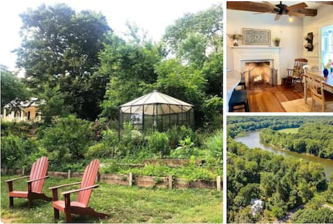 Historic C&O Canal House Charmingly Renovated