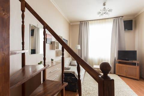 Апартаменты Живи Уютно у Северсталь