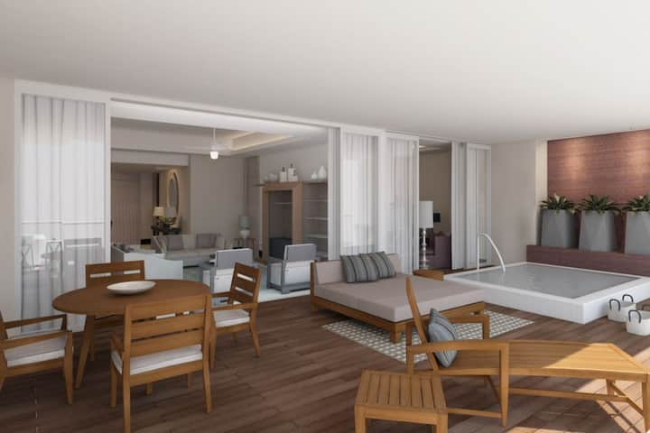 Grand Luxxe - 3 Bedroom Spa Suite - NV