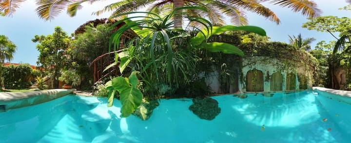 Garden Suite Piscina en La Quinta Orquídea