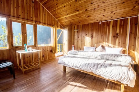 Whispering Pines Cottages| Snow Leopard