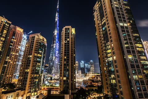 Stunning Full Burj Khalifa and Fountain View 2 BDR