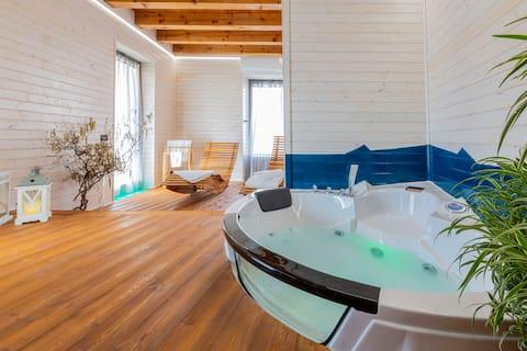 La Perla di Costozza, apartment with exclusive SPA