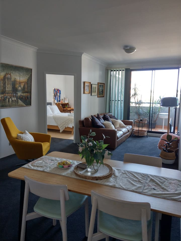 Cosy inner city 2br accommodation!