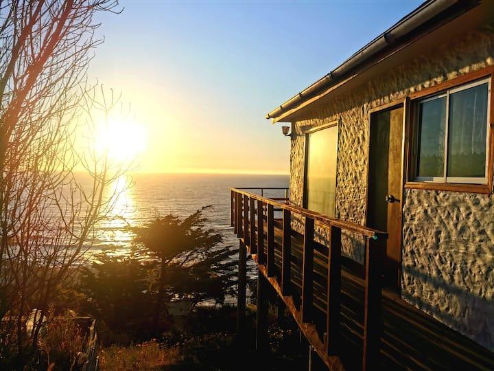 Tu Refugio; Abrasadora Naturaleza y vista al mar