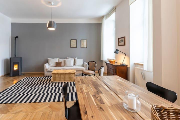 Olomouc city center 1-bedroom luxury design flat