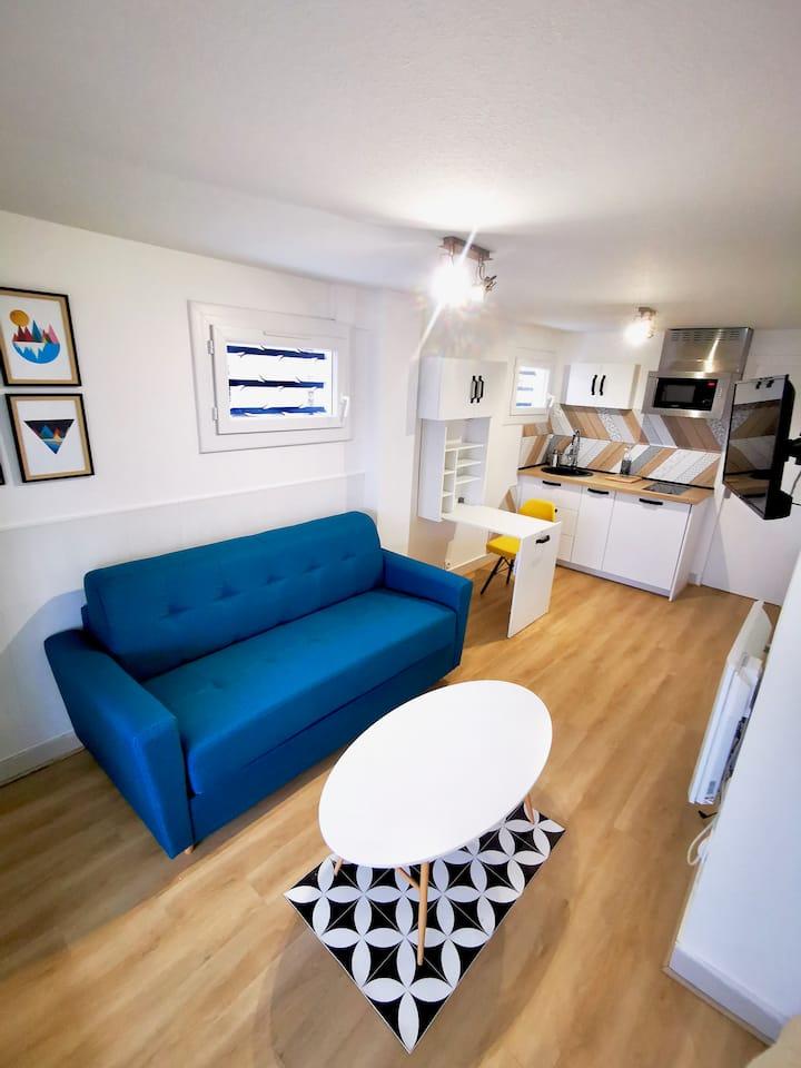 Chez Antoine et Audrey - Studio Annecy 18m2