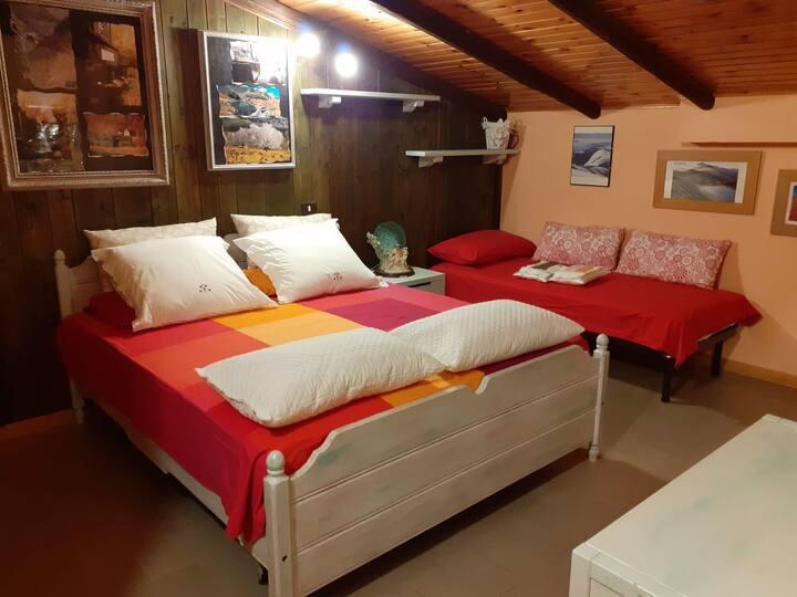 Stanza Privata in Villa di Montagna in Appennino