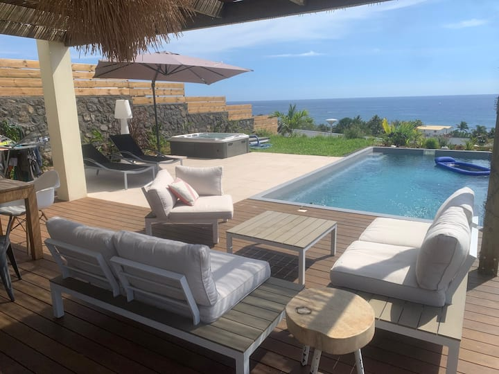 Villa avec vue sur océan imprenable