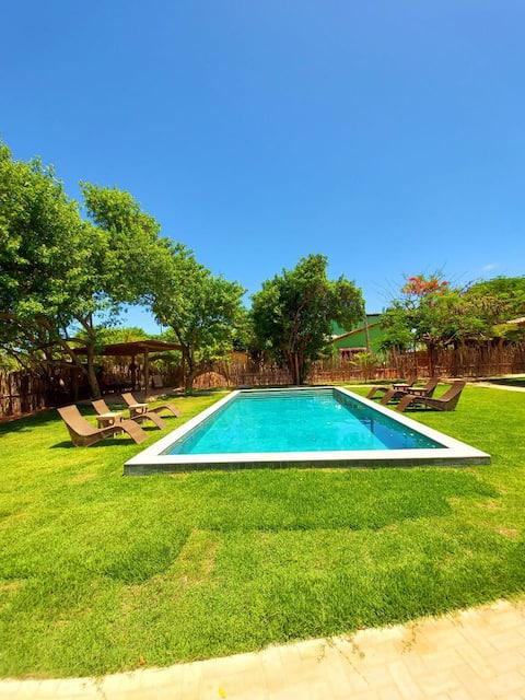 Charming House 80 m from Tatuamunha Beach