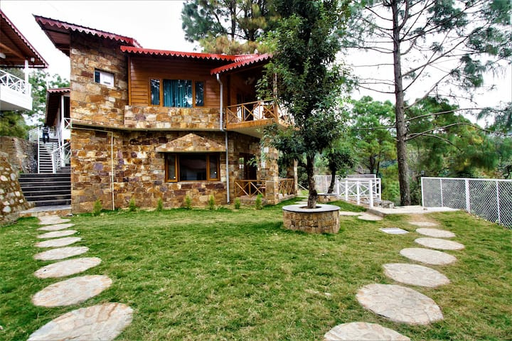 Double Story Bungalow with Balcony in Nainital