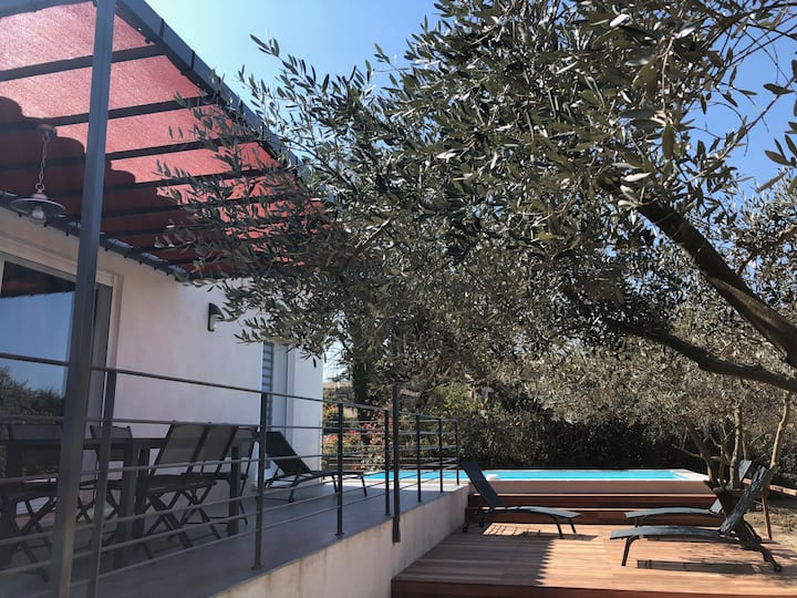 Villa Coquelicot avec piscine privée