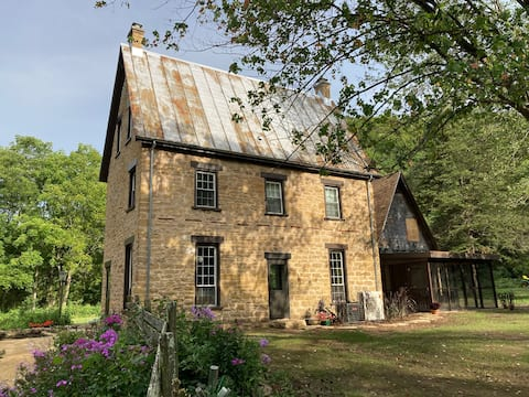Restored Historic Stone House in the Country