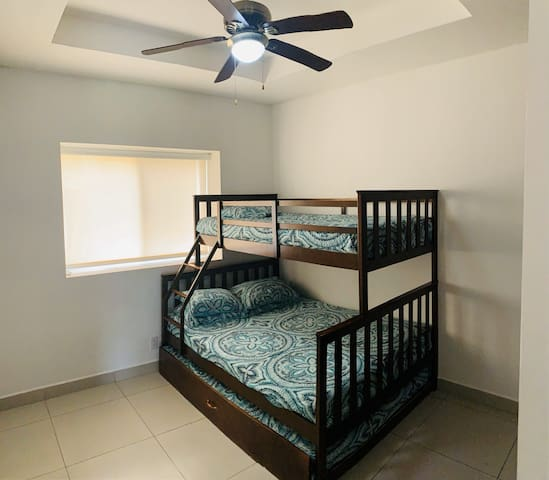 Third bedroom with AC