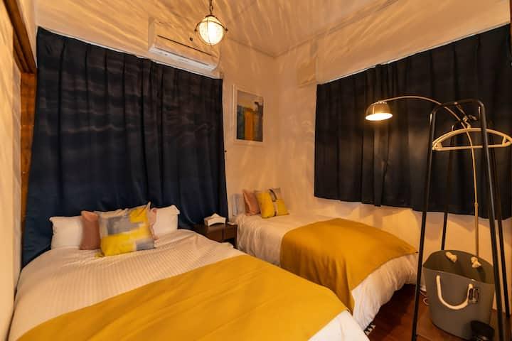 convenient access!! lovely island villa