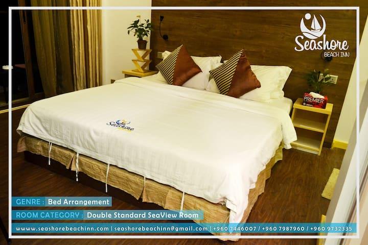 SEASHORE BEACH HOTEL-Double Sea View Room-Maldives