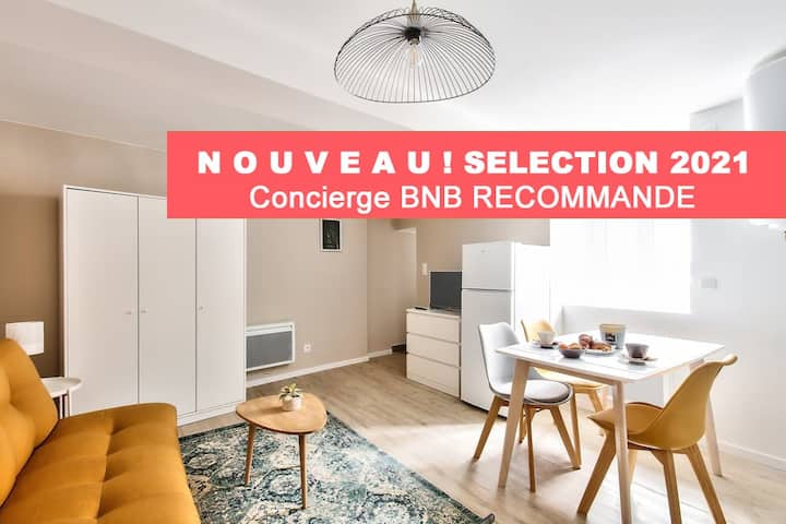 AP Residence BNB Express - Town Hall - Roanne