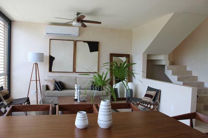 ☀Bai Ha New 2 Bedroom Aldea Zama, up to 5 people☀
