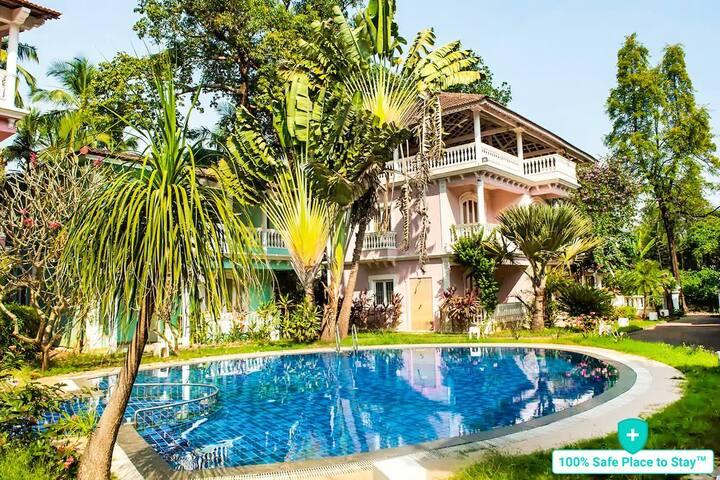 Cherish 2BHK Villa with Pool