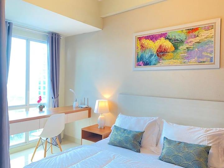 Apartemen Grand Dhika Bekasi for WFH & Staycation