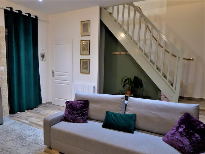 Montargis logement 1-4 pers - terrasse- Wifi-linge