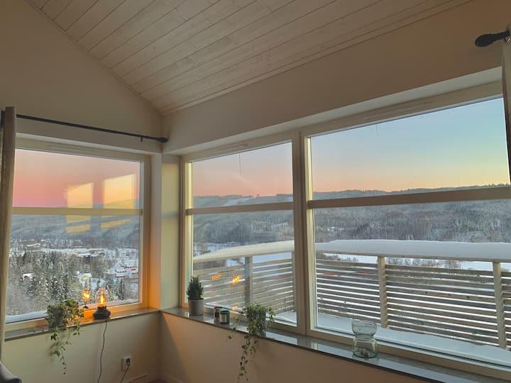 Mattestorp Panorama - Modern cabin near klarälven