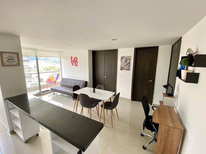 Fabulous Apartment Studio on the Heart of Ibague