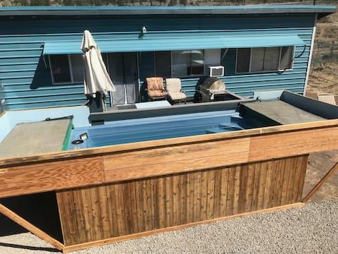 Cabin Near Tahoe, Heated Swim Spa, Ski Lease Ask??
