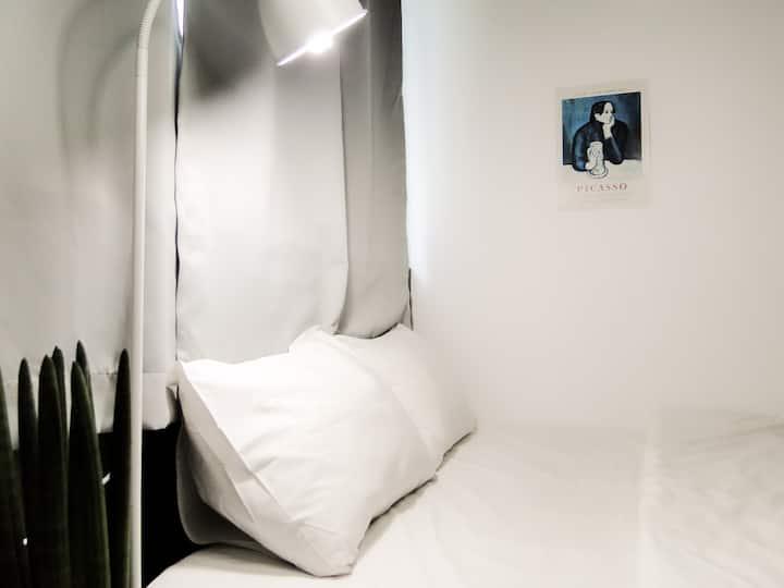 #Mood  #IKEA #리모델링 더블룸 / 단독욕실 / 무료조식 / 해운대역 도보 1분