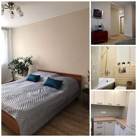 Cosy and clean one bedroom flat in quite center