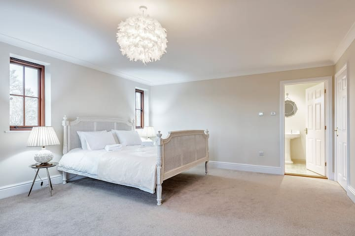 Bedroom 1   Superking bed with luxury ensuite shower room and a walk in dressing room